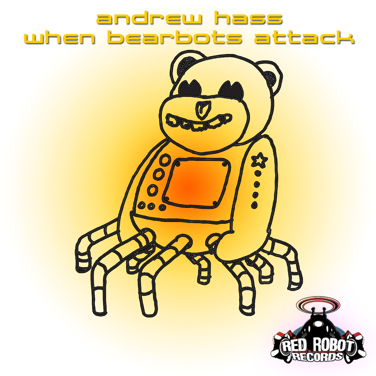 EP Spotlight:  When Bearbots Attack EP by DJ SaDiablo