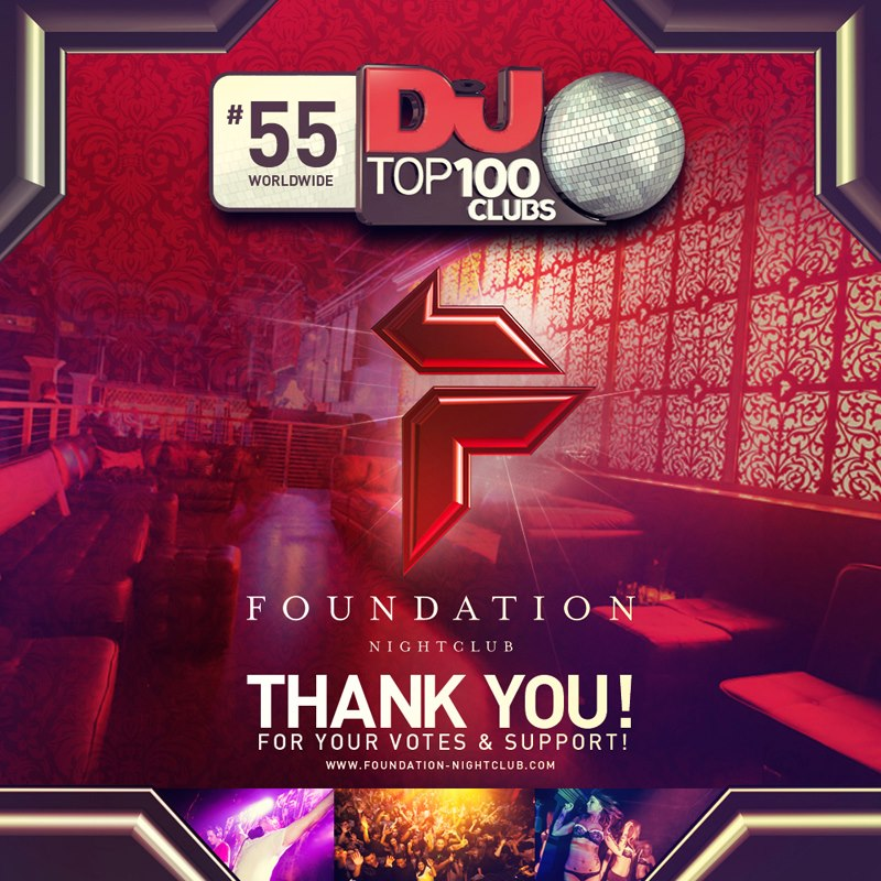 Congratulations Foundation Nightclub!