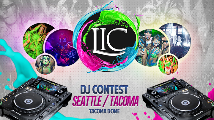 Dayglow:  Life In Color Seattle/Tacoma – DJ Competition