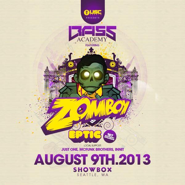 Bass Academy 2013 with Zomboy & Eptic!
