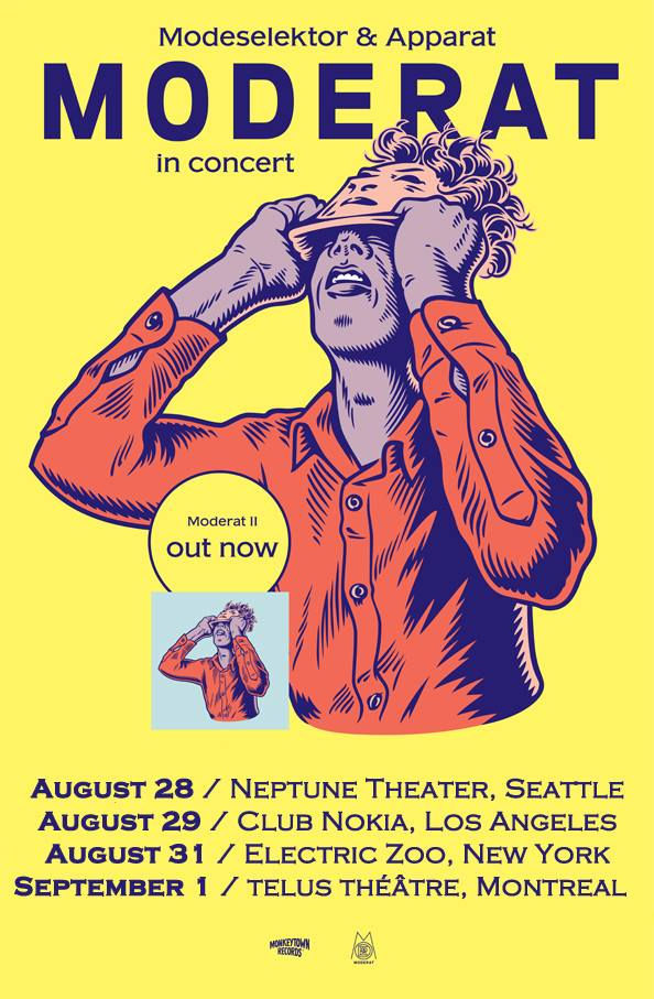 Moderat Giveaway:  Last Day to Win!