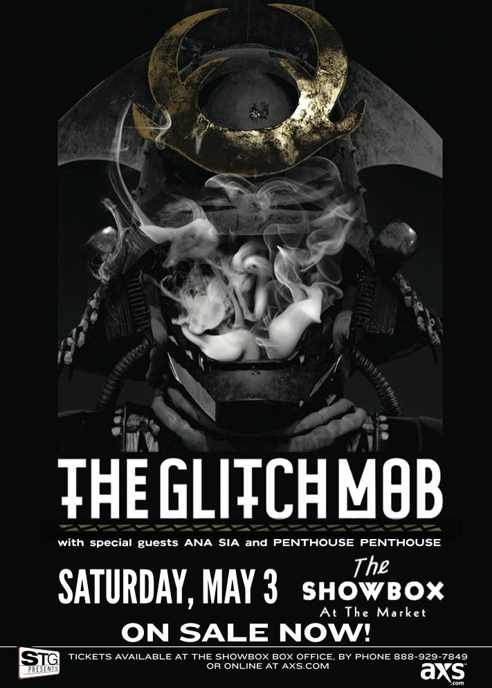 The Glitch Mob:  Love Death Immortality tour at the Showbox Market