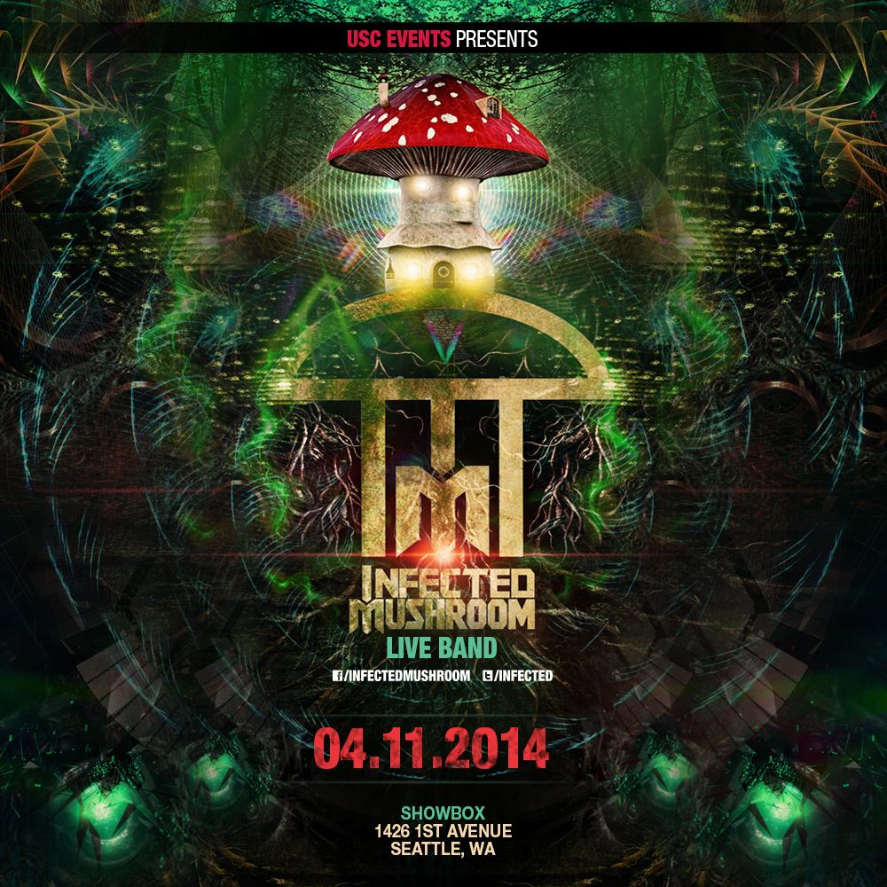 Infected Mushroom (Live!) at the Showbox Market