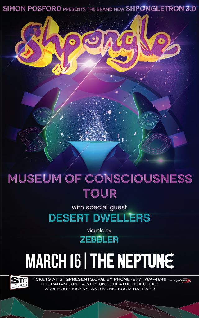 Shpongle: Museum of Consciousness Tour & Ticket Giveaway!
