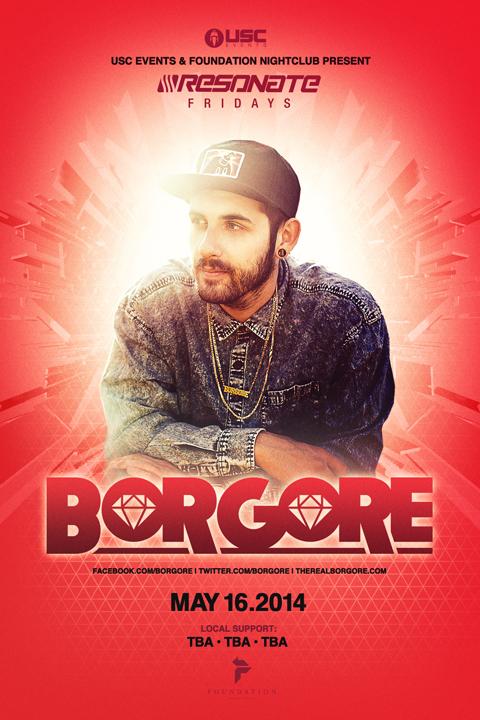 Borgore at Foundation Nightclub