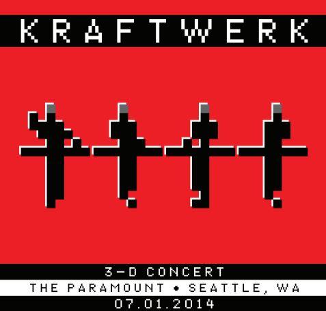 Kraftwerk 3D at the Paramount & Ticket Giveaway!