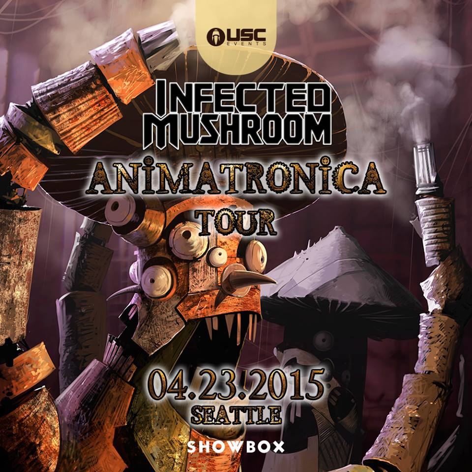 Infected Mushroom LIVE at the Showbox