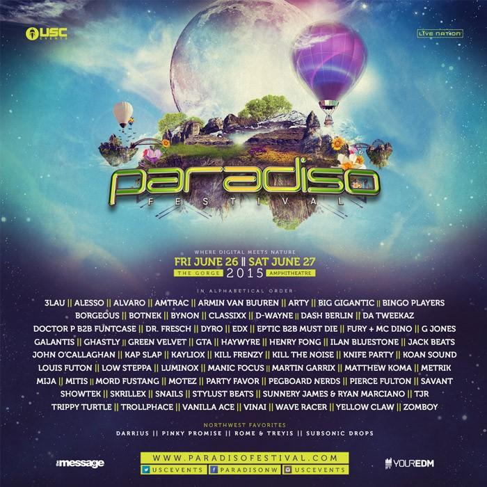 Paradiso 2015 with Armin Van Buuren & Skrillex!