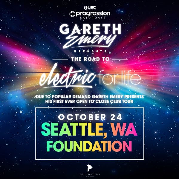 Gareth Emery OPEN TO CLOSE Set at Foundation Nightclub