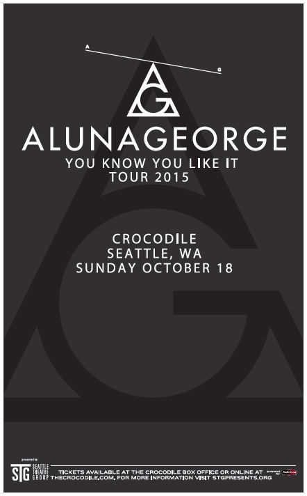 TICKET GIVEAWAY:  AlunaGeorge at the Crocodile