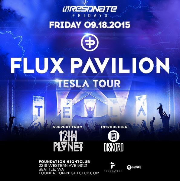 Flux Pavilion: the Tesla Tour at Foundation Nightclub