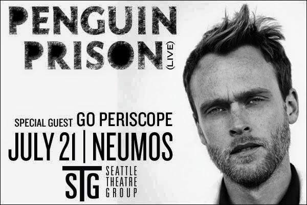 TICKET GIVEAWAY:  Penguin Prison LIVE & Go Periscope
