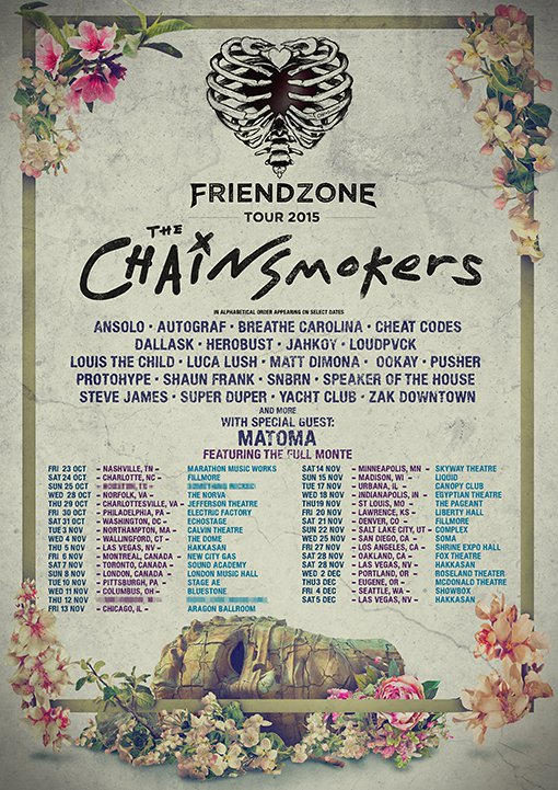 The Chainsmokers: Friend Zone Tour at the Showbox