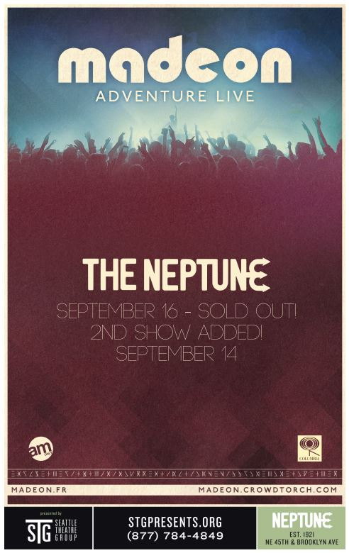 Madeon: Adventure Live Tour at the Neptune – SECOND SHOW ADDED!