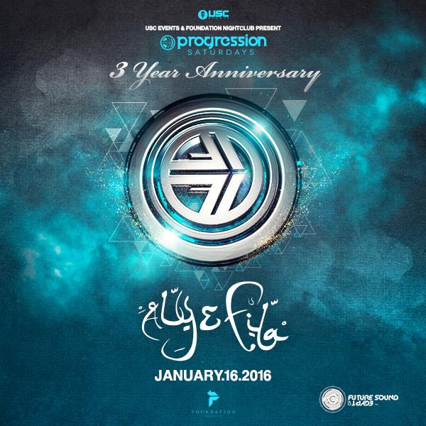 Aly & Fila:  Progression Saturdays 3 Year Anniversary