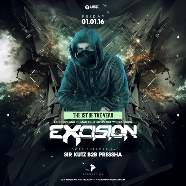 Excision at Foundation Nightclub [SOLD OUT]