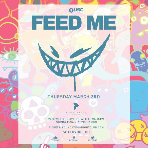 Feed Me: North American DJ Tour at Foundation Nightclub