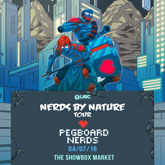 Pegboard Nerds: Nerds By Nature Tour at the Showbox Market