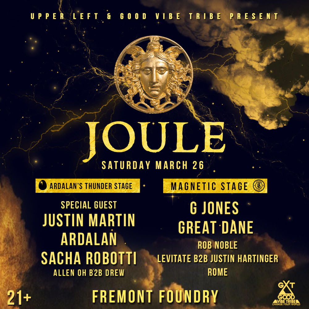Justin Martin, G Jones & More at the Fremont Foundry