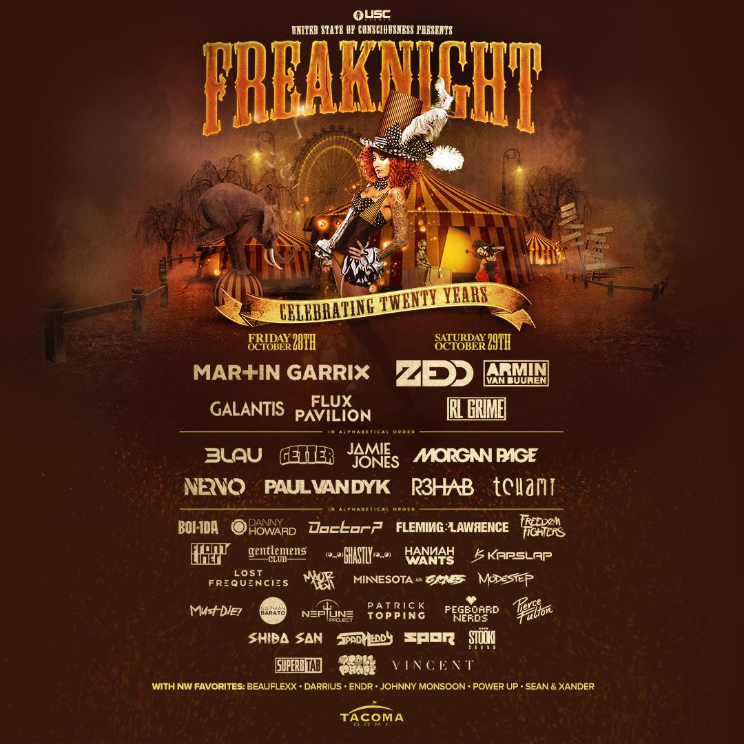 Freaknight 2016