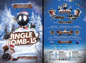 *T-Mass, Far Too Loud & Reid Speed/JINGLE BOMB at Studio 7 [18+] @ Studio 7   Seattle   Washington   United States