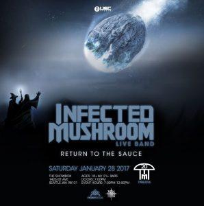 Infected Mushroom (full live band!) at the Showbox Market @ Showbox Market   Seattle   Washington   United States