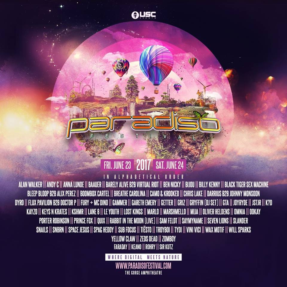 TICKET GIVEAWAY: Win TWO Celestial VIP Tickets to Paradiso!