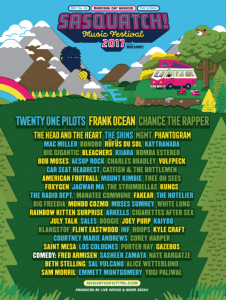 SASQUATCH FESTIVAL at the Gorge @ The Gorge Ampitheatre | Quincy | Washington | United States