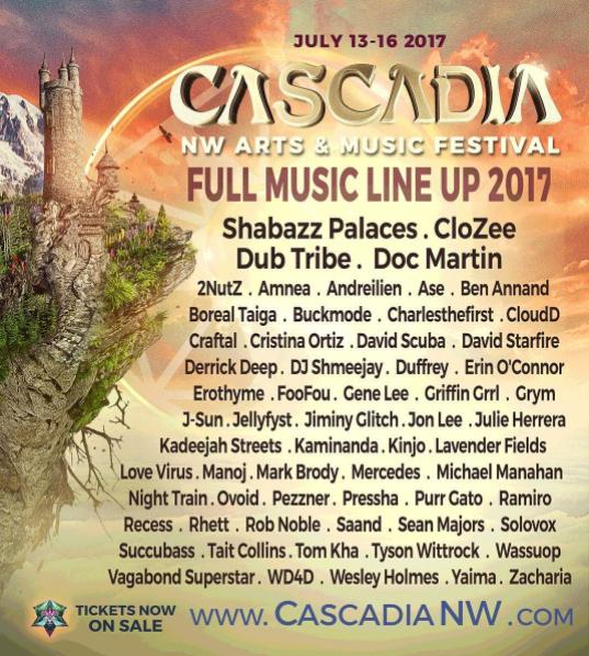 Cascadia Festival 2017