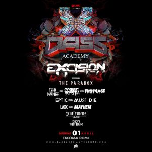 Excision with 12th Planet, Cookie Monsta, Funtcase, Eptic, Must Die!, LAXX, Mayhem at the Tacoma Dome [SOLD OUT] @ Tacoma Dome | Tacoma | Washington | United States