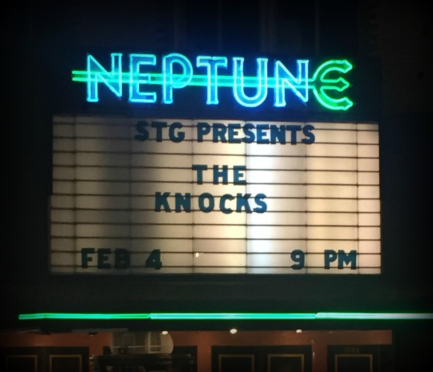 PHOTOS & EVENT REVIEW:  The Knocks at the Neptune