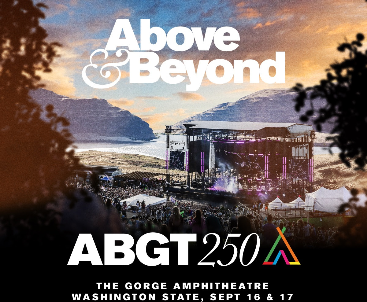 Above & Beyond: Group Therapy at the Gorge!