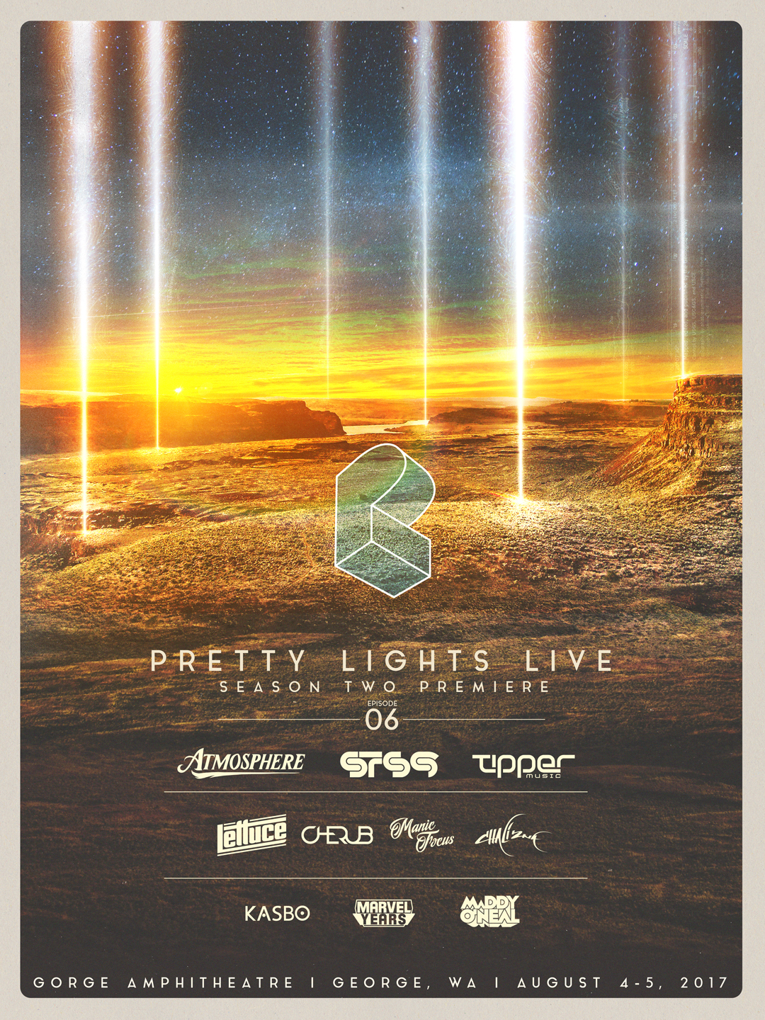 Pretty Lights: Two Nights Live at the Gorge Amphitheater with STS9, Manic Focus, Tipper & More!