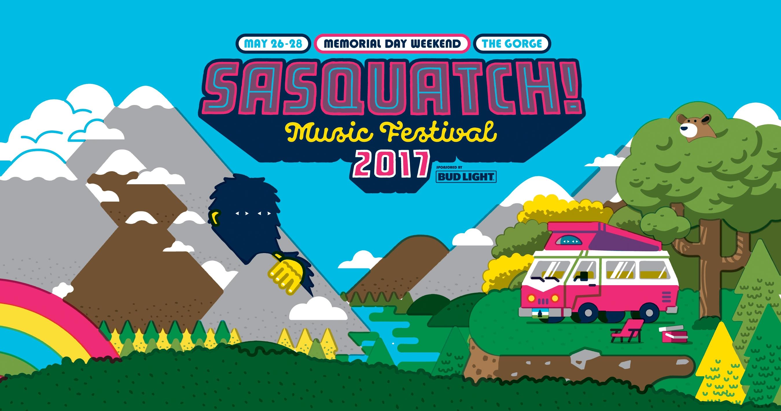 EVENT REVIEW: Sasquatch! 2017