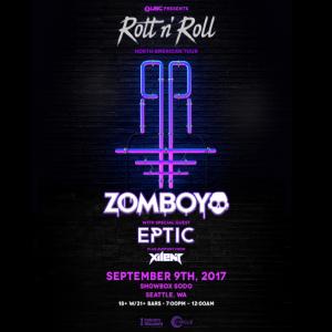 Zomboy with Eptic & Xilent at the Showbox Sodo [SOLD OUT] @ Showbox SoDo | Seattle | Washington | United States