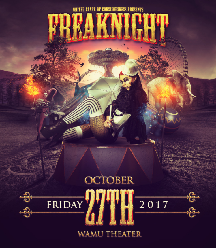 Freaknight Festival at the Wamu Theater