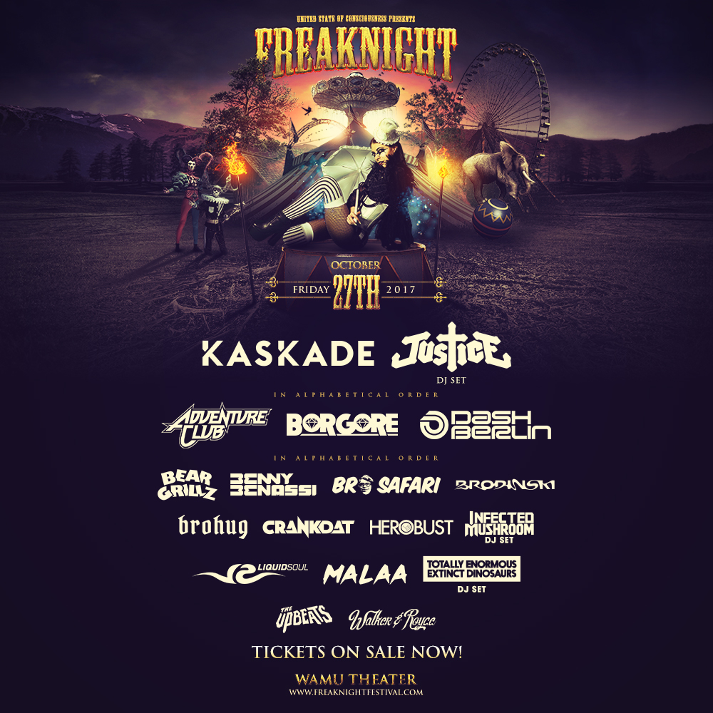 Freaknight 2017 at the Wamu Theater!