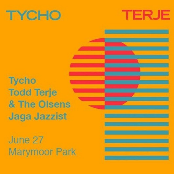 Tycho with Todd Terje and more at Marymoor Park