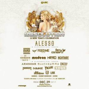 Alesso, Duke Dumont, Madeon, NGHTMRE, Ghastly, Destructo & more/RESOLUTION NYE at the Wamu Theater [TICKET GIVEAWAY] @ Wamu Theater | Seattle | Washington | United States