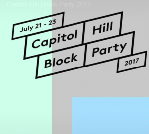 CAPITOL HILL BLOCK PARTY 2018 @ The streets of Capitol Hill
