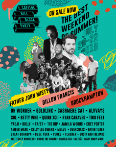 Dillon Francis, Cashmere Cat, Goldlink, Two Feet, Chet Porter & more/CHBP 2018 @ The streets of Capitol Hill