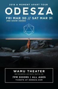 Odesza at the WaMu Theater @ WaMu Theater | Seattle | Washington | United States