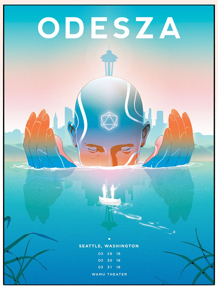 Odesza: A Moment Apart Tour at the WaMu Theater