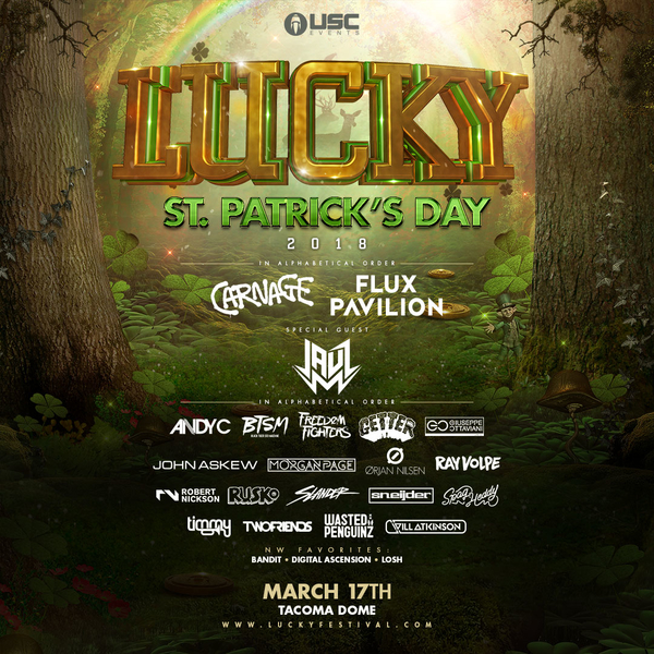 TICKET GIVEAWAY: Lucky