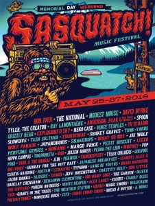 SASQUATCH at the Gorge @ Gorge Amphitheatre | Quincy | Washington | United States