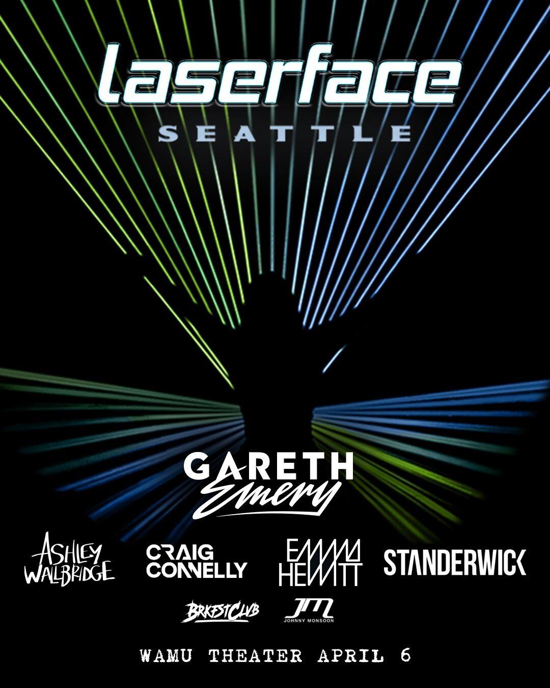 Gareth Emery: Laserface