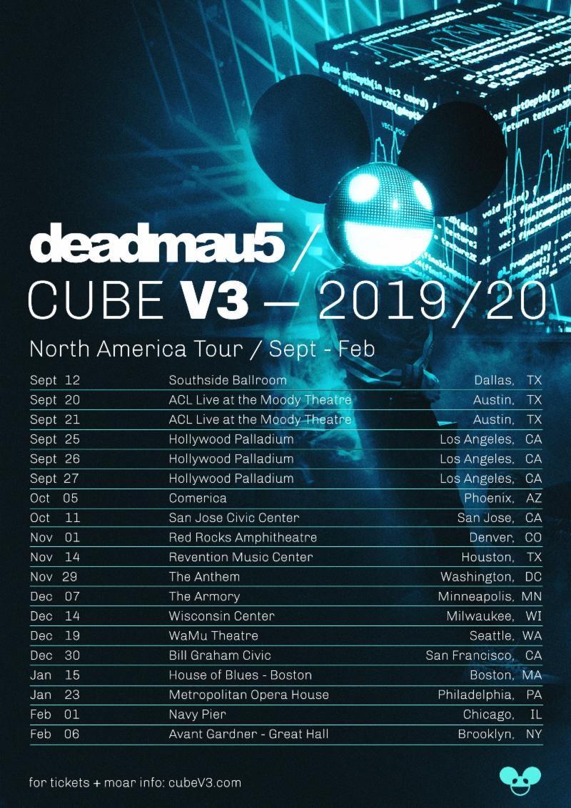 Deadmau5: Cube v3 at the WaMu Theater