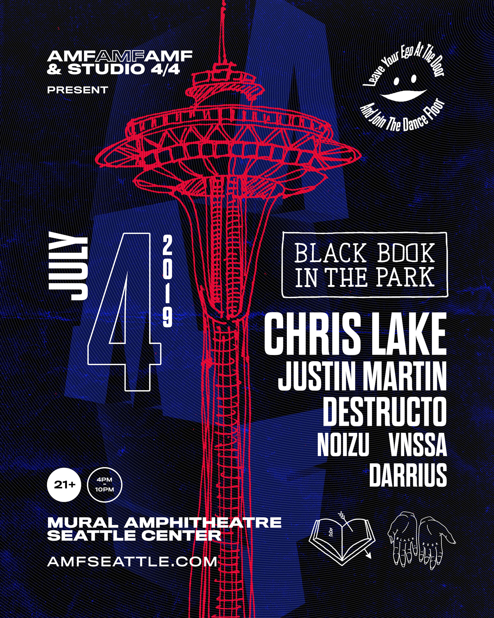 4th of July: Chris Lake, Justin Martin, Destructo, Noizu & Vnssa