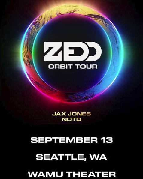 Zedd with Jax Jones and NOTD
