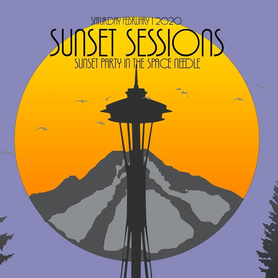 Sunset Sessions: House Music on top of the Space Needle!